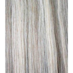Hairworkxx Clip in Hairextensions Farbe 10/613 Ash Brown / White Blonde
