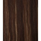 Hairworkxx Clip in Hairextensions Farbe 4/27 Roch Brown / Blonde Camel