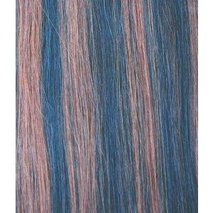 Hairworkxx Clip in Hairextensions Farbe 1B / 30 Black Brown / Light Auburn