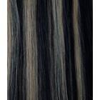 Hairworkxx Clip in Hairextensions Farbe 1B / 27 Schwarz Schwarz / Camel Blonde