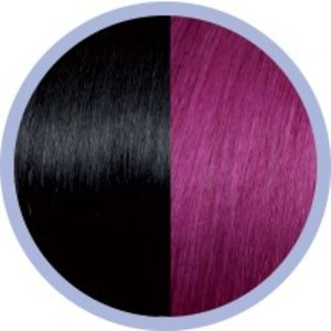 Euro SoCap Seiseta Invisible Clip-On Black / Red Violet