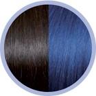 Euro SoCap Seiseta Invisible Clip-On 4/59 Chestnut Braun / Blau