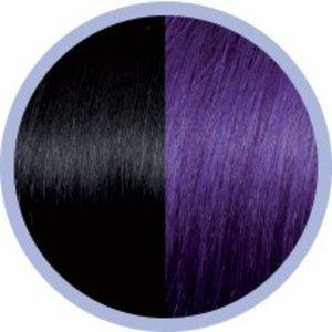 Euro SoCap Seiseta Invisible Clip-On 1B / 63 Schwarz / Violett