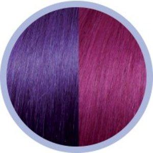Euro SoCap Seiseta Invisible Clip-On 62/63 Rot Violett / Violett