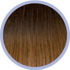 Euro SoCap Seiseta Invisible Clip-On 27.06 Schokolade braun / blond Gold-