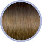 Euro SoCap Seiseta Invisible Clip-On 4/14 Donker bruin/blond