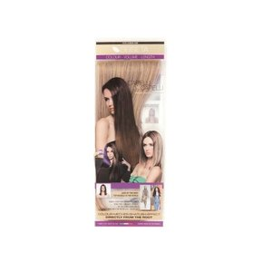 Euro SoCap Seiseta Invisible Clip-On 8/24 Brown / Intensive asblond