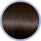 Euro SoCap Seiseta Invisible Clip-On 6 Chocolade bruin