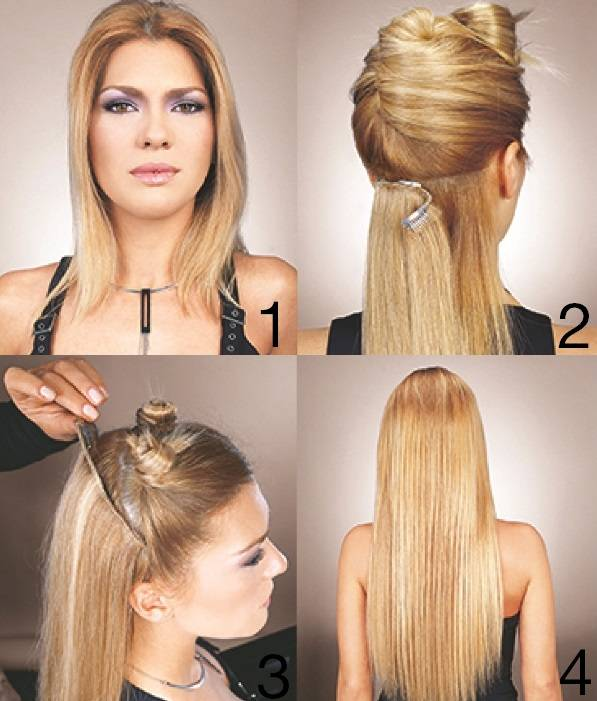 Euro Socap Free Extensions Clip On 17 Midden Blond