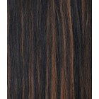 Hairworkxx Staart Kleur 1B/5 - Black Brown- Chesnut Brown