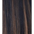 Hairworkxx Staart Kleur 2/30 - Dark Brown/ Light Auburn
