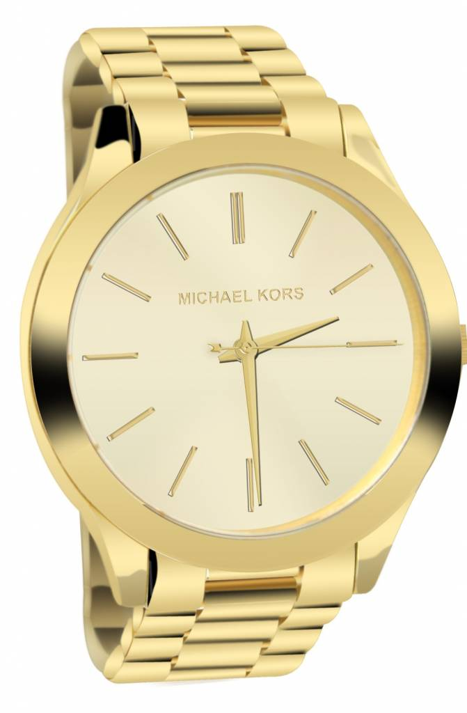 Damenuhren michael kors 2017  Michael Kors Damen Armbanduhr Damenuhr Runway Edelstahl vergoldet ...