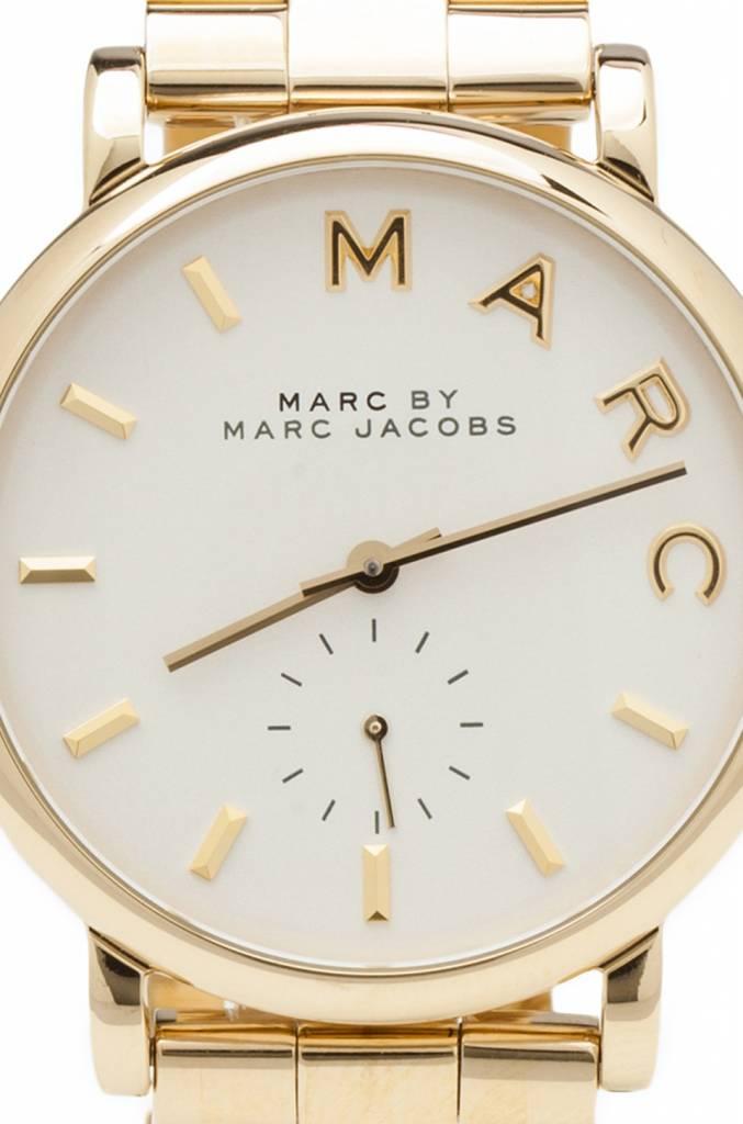 Damenuhren marc jacobs  MARC by Marc Jacobs Damenuhr Edelstahl vergoldet Ladies watch ...