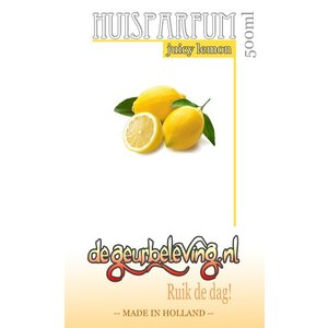 Geurolie Juicy Lemon (sappige citroen)