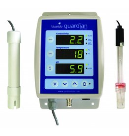 BlueLab PH meter, EC meter, en Temperatuurmeter Guardian Monitor