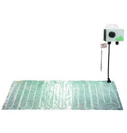 BIOGreen Aluminium grond verwarmings mat 100 x 200cm (300W)