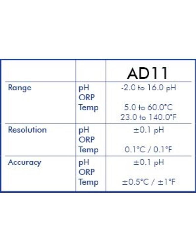 Adwa PH meter & Temperatuurmeter AD-11 (waterdicht)