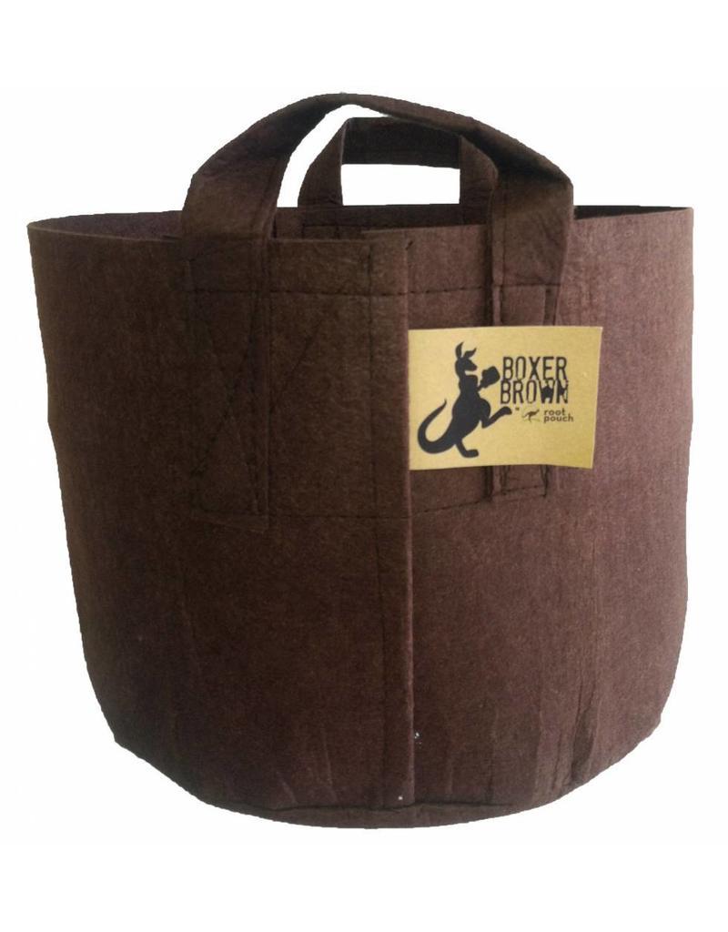 ROOTPOUCH BOXER BROWN met HANDVAT 95 ltr 10st/bundel, 260gr/m2