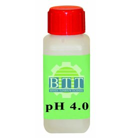BTT pH 4,01 Fluid 100 ml kalibrieren.