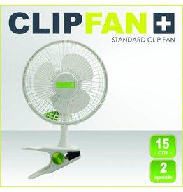 Garden High Pro Clip-Fan (Clipfan) 15cm weiß, 2 Geschwindigkeiten mit Befestigungsclip