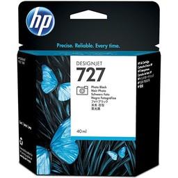 HP 727 Foto Zwart 40ml