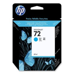 HP 72 Cyaan 69ml