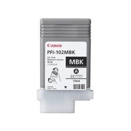 Canon PFI-102MBK Mat Zwart 130ml