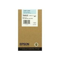 Epson T6025 Licht Cyaan 110ml