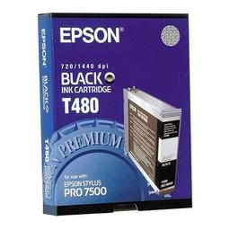 Epson T480 Zwart 110ml