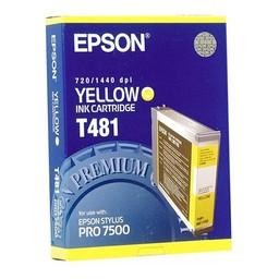 Epson T481 Geel 110ml