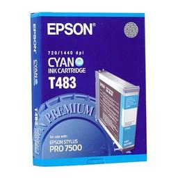 Epson T483 Cyaan 110ml