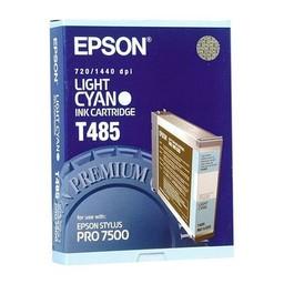 Epson T485 Licht Cyaan 110ml