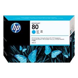 HP 80 Cyaan 350ml