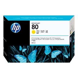 HP 80 Geel 350ml