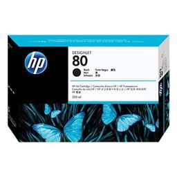HP 80 Zwart 350ml