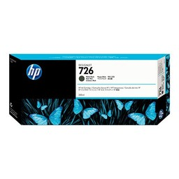 HP 726 Mat Zwart 300 ml