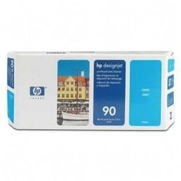 HP 90 Printkop Cyaan