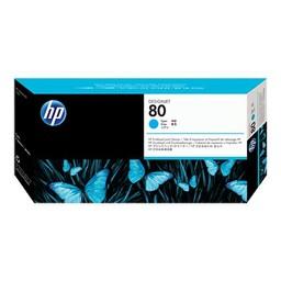 HP 80 Printkop Cyaan