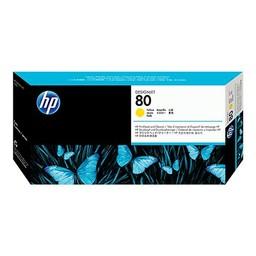 HP 80 Printkop Geel