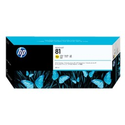 HP 81 DYE Geel 680ml