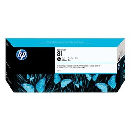 HP 81 DYE Zwart 680ml