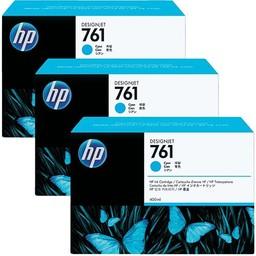 HP 761 Cyaan 400ml 3x