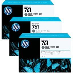 HP 761 Dark Grijs 400ml 3x