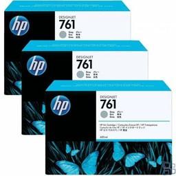 HP 761 Grijs 400ml 3x