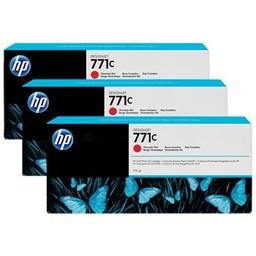 HP 771C Chromatisch Rood 3x