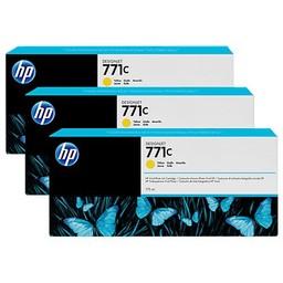 HP 771C Geel 3x