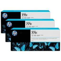 HP 771C Licht Grijs 3x