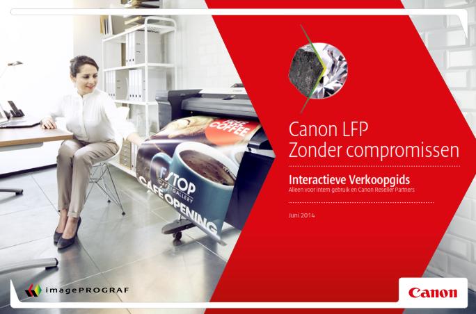 Canon Interactieve Verkoopgids
