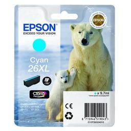 Epson 26XL Cyaan