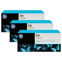 HP 771 Geel 775ml 3x